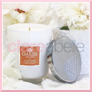 Oakes Candles - Orange & Cardamon Votive Candle 180g
