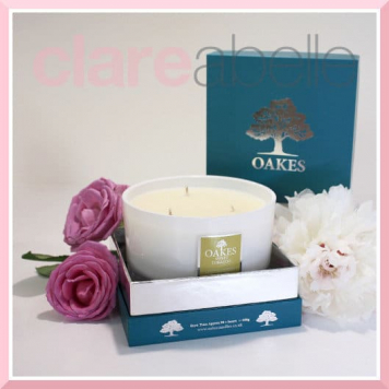 Oakes Candles - Sweet Tobacco Three Wick Candle 500g