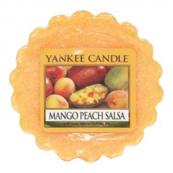 Yankee Candle Mango Peach Salsa Wax Tart Melt