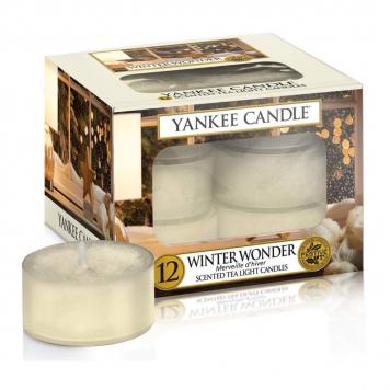 Yankee Candle Winter Wonder Tea Lights - Pack Of 12