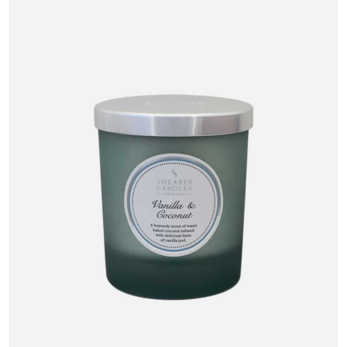 Shearer Vanilla and Coconut Jar Candle
