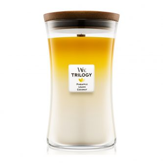 Woodwick Fruits of Summer Trilogy Large Jar Candle