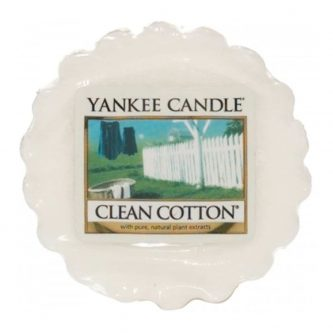 Yankee Candle Clean Cotton Wax Tart Melt