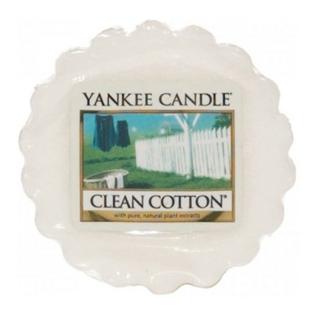 Yankee Candle Clean Cotton Wax Tart Melt