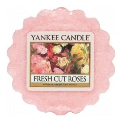 Yankee Candle Fresh Cut Roses Wax Tart
